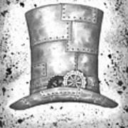 Riveting Top Hat Poster