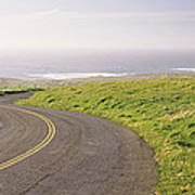 Road Along The Coast, Point Reyes Poster