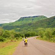 Road In Khondowe, Malawi Poster