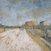 Road Running Beside The Paris Ramparts Paris, June - September 1887 Vincent Van Gogh 1853  1890 Poster