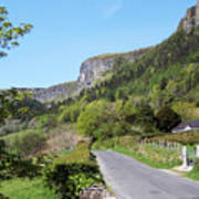 Road To Benbulben County Leitrim Ireland Poster