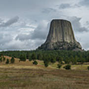 Road To Devils Tower Panorama Poster
