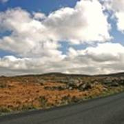 Road To Glenveagh National Park No 2 Poster