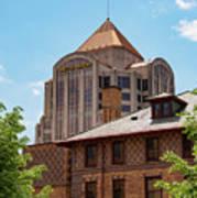 Roanoke Architecture Poster