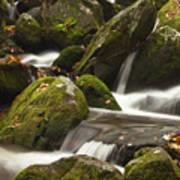 Roaring Fork Waterfall Poster by Andrew Soundarajan