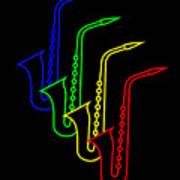 Roaring Jazz Poster