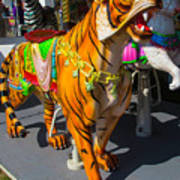 Roaring Tiger Ride Poster
