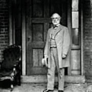 Robert E. Lee In Richmond, Virginia Poster