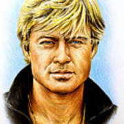 Robert Redford Poster by Andrew Read