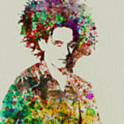Robert Smith Cure 2 Poster by Naxart Studio