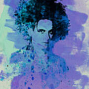Robert Smith Cure Poster by Naxart Studio