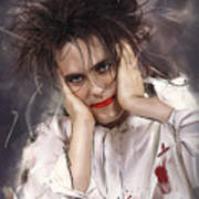 Robert Smith - The Cure Poster
