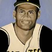 Roberto Clemente Poster
