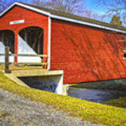 Roberts Covered Bridge Poster