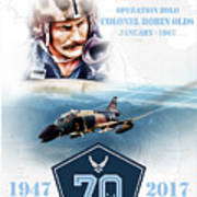 Robin Olds Breaking Barriers Poster