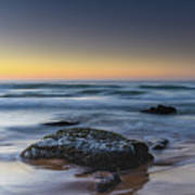 Rockin The Sunrise Seascape Poster