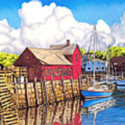 Rockport Cove Poster