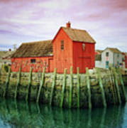 Rockport, Motif No. 1, Fishing Shack Poster