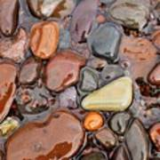 Rocks Of Lake Superior 12 Poster