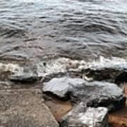 Rocks On The Chesapeake Poster
