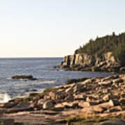 Rocky Coast Of Acadia Poster
