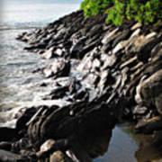 Rocky Maui Coast Poster