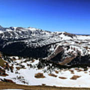 Rocky Mountain National Park Pano 2 Poster