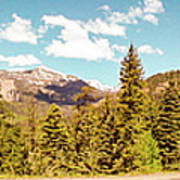 Rocky Mountain Panorama Poster