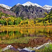Rocky Mountain Reflections - Telluride - Colorado Poster