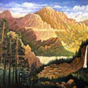 Rocky Mountain Sunrise Poster