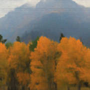 Rocky Mountains Colorado Autumn  Poster