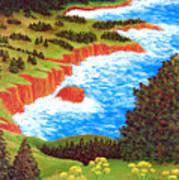 Rocky Oregon Coast Poster