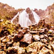 Rocky Water Wilderness Poster