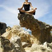 Rocky Yoga Poster