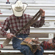 Rodeo Cowboy Poster