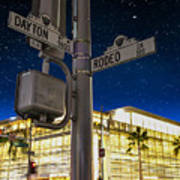 Rodeo Dr. And Dayton Way Poster