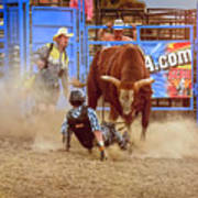 Rodeo Rider Down Poster