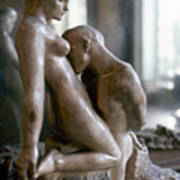 Rodin: Lovers, 1911 Poster
