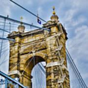 Roebling Suspension Bridge Poster