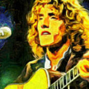 Roger Daltrey - The Who Poster