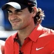 Roger Federer In Attendance For Arthur Poster by Everett