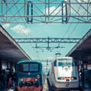 Roma Termini Railway Station Poster