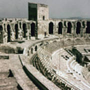 Roman Amphitheatre, Arles Poster