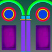 Roman Arctiecture Doors Poster
