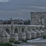 Roman Bridge In Cordoba II Poster