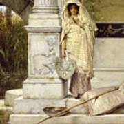 Roman Fisher Girl Poster