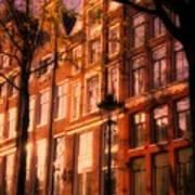 Romantic Amsterdam Poster