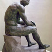 Rome Boxer Sculpture Poster by Granger