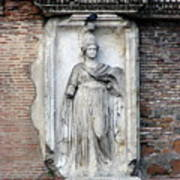 Rome Italy Statue Poster