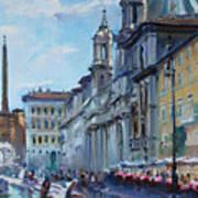 Rome Piazza Navona Poster